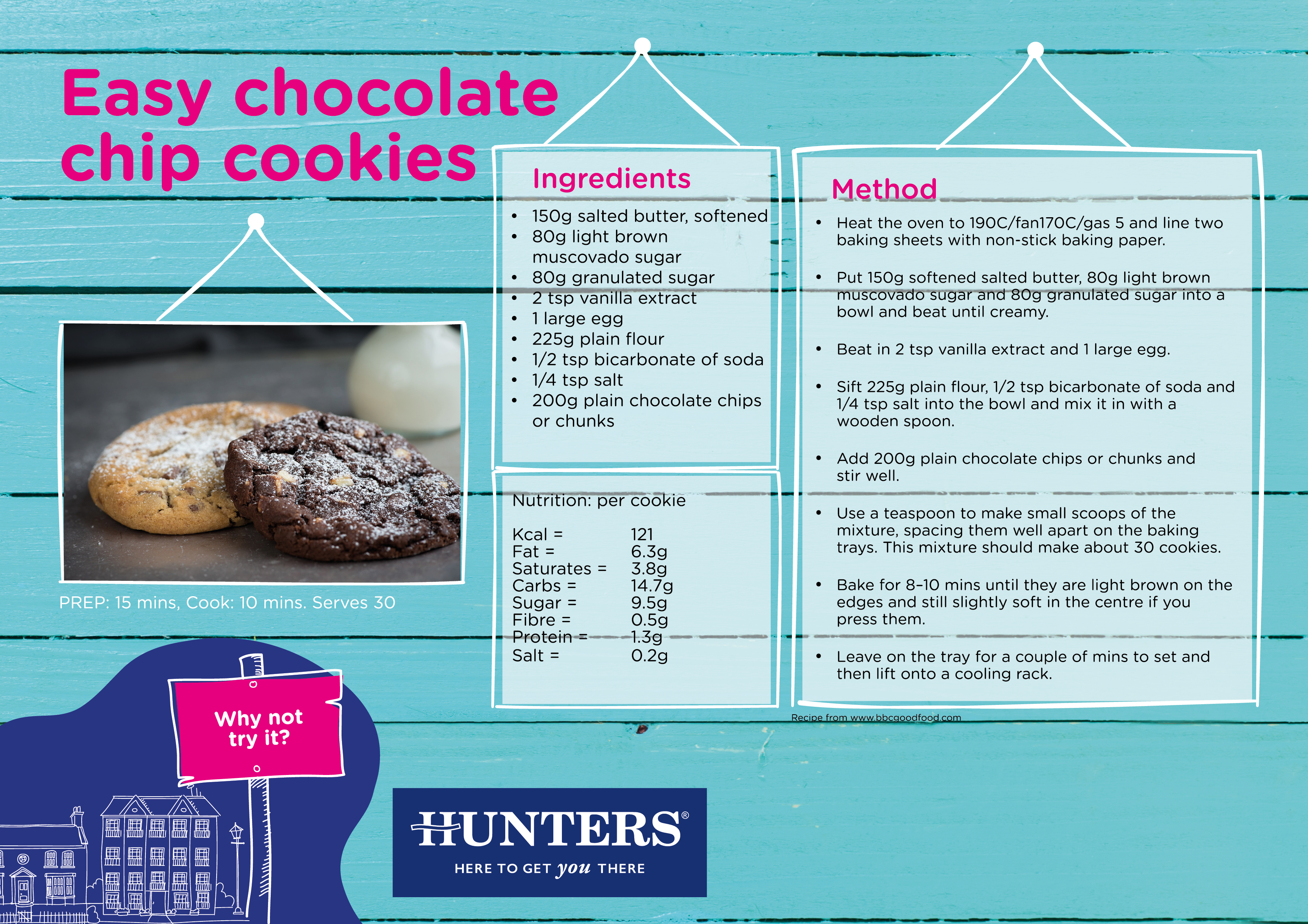 Hunters Activity Zone - Baking Chocolate Chip Cookies