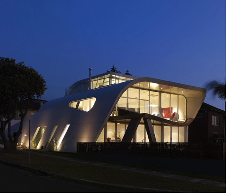 5 of the most futuristic homes in the world hunters