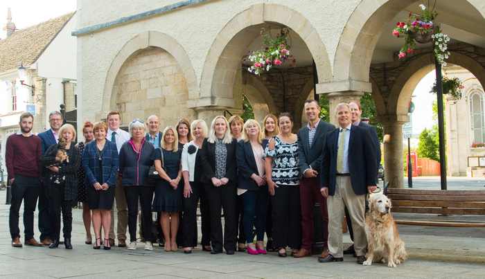Image of the team of the Hunters Bristol network, previously Besley Hill directors and staff.