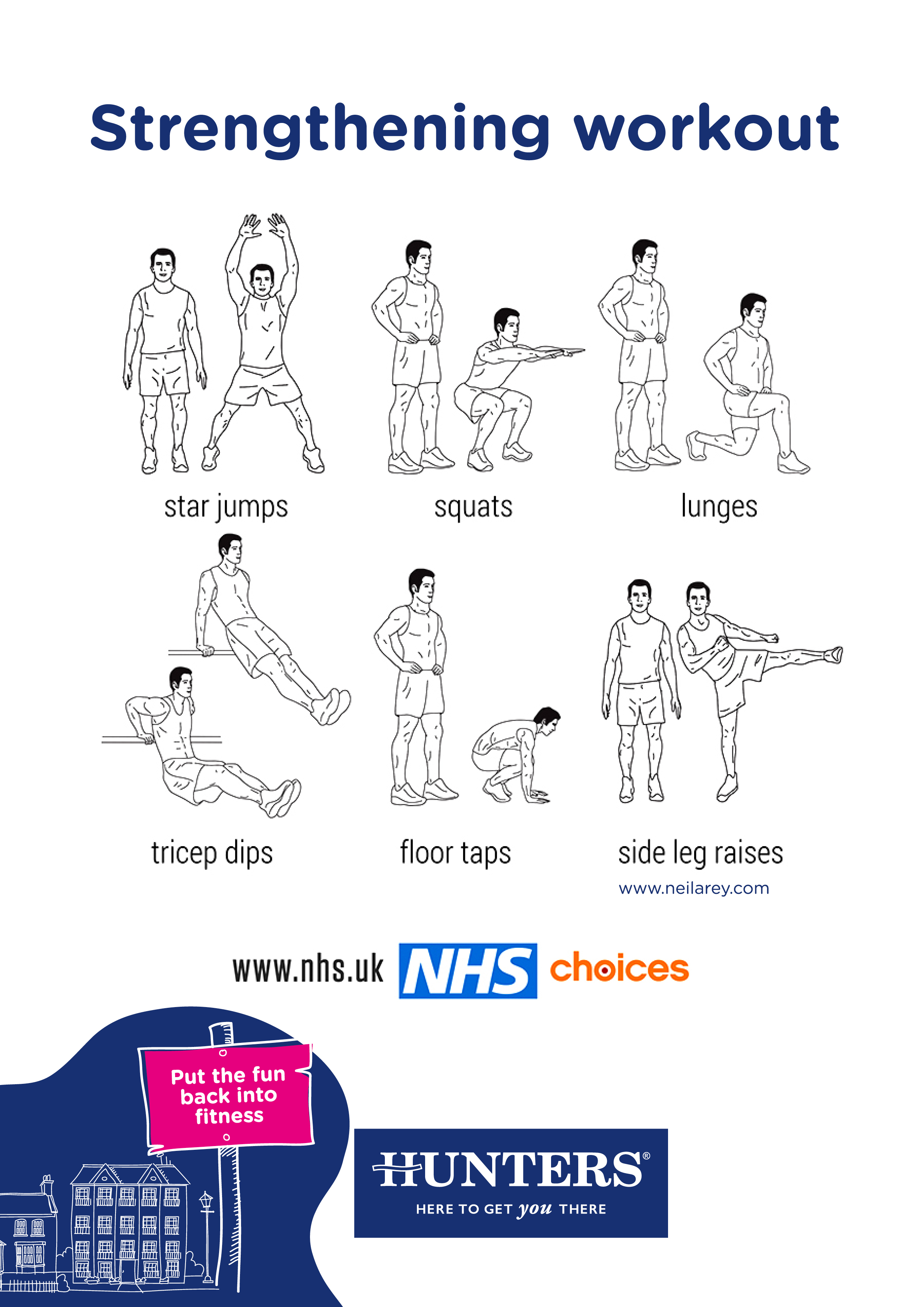 Hunters Activity Zone - Strengthening workout